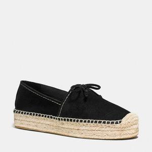 蔻驰(Coach) 女士休闲鞋 #BLACK