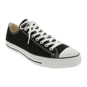 匡威 女士帆布鞋 #Black