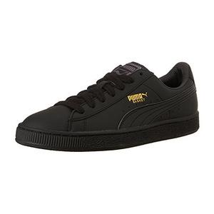 彪马(PUMA) Mens Basket 经典 Lfs Fashion 运动鞋 #BlackTeam 金色 #Black/Team Gold