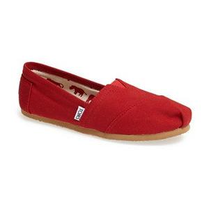 汤姆斯(TOMS) 女士经典渔夫鞋 #Red