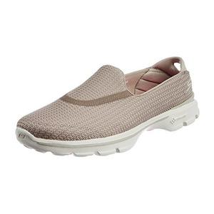 斯凯奇 女士一脚蹬健步鞋 #Stone