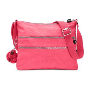 凯浦林(Kipling) 女士尼龙斜跨包 #Vibrant Pink
