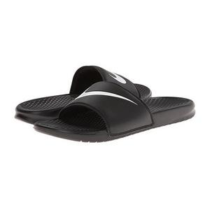 耐克(NIKE) 男士拖鞋 #Black/White