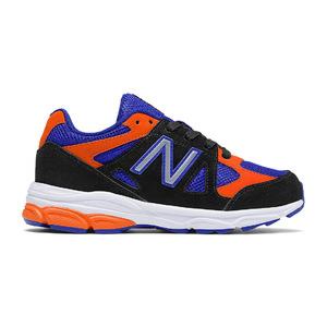 新百伦(New Balance) New Balance 888 #黑色 + 蓝色橙色 #Black with Blue & Orange