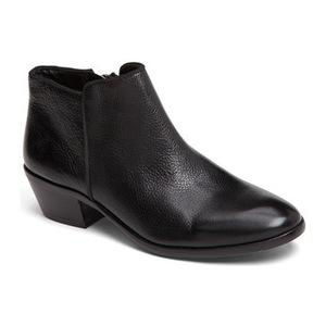 山姆爱德曼(Sam Edelman) Petty ChelseaBoot 女士 #黑色真皮 #Black Leather