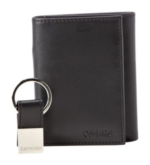 卡尔文·克雷恩(Calvin Klein) 男士皮夹 #Black