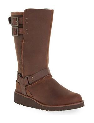 UGG® 女士中小牛靴 #Chestnut Leather
