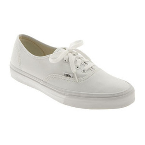 万斯(Vans) Authentic Sneaker (Men)-True Whte
