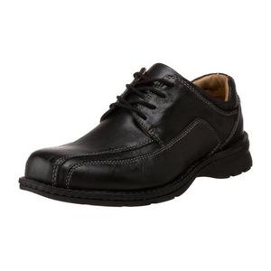 道格斯(Dockers) 男式Trustee黑色牛津休闲皮鞋 #Black