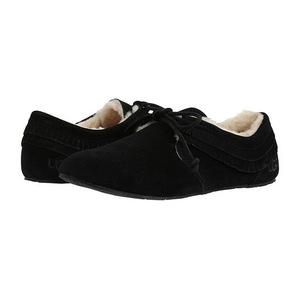 UGG 女士拖鞋 #Black