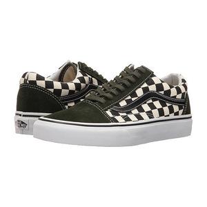 万斯(Vans) Old Skool #50th CheckerboardBlackRosin #(50th) Checkerboard/Black/Rosin