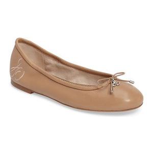 山姆爱德曼(Sam Edelman) Felicia 平底鞋 #Bare 肤色真皮 #Bare Nude Leather