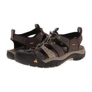 科恩 男士凉鞋 #Black Olive/Brindle