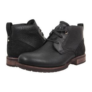 UGG 男士靴子 #Black Leather