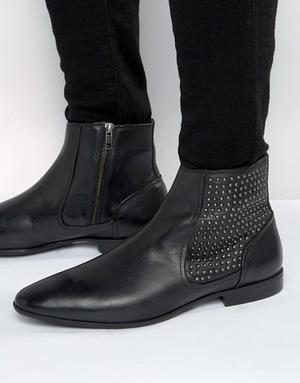 ASOS 男士短靴 #Black