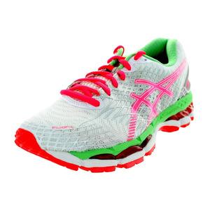 亚瑟士 跑步鞋 #Wht/Hot Coral/Apple