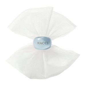 日本HACCI 1912花绮 蜂蜜洁面皂专业起泡网 附蓝色指环 洁面皂拍档 轻松打出绵密泡沫