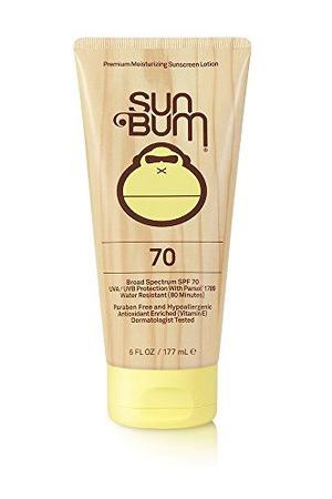 Sun Bum SPF 70 Moisturizing Sunscreen Lotion Tube