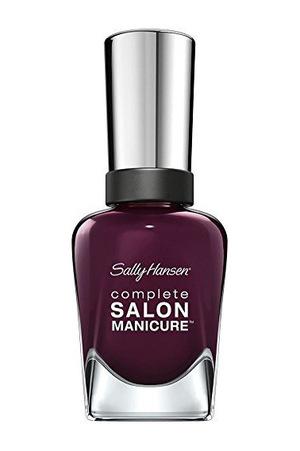 莎莉汉森(Sally Hansen) Complete Salon Manicure Nail Color #Pat On The 黑色 #Pat On The Black