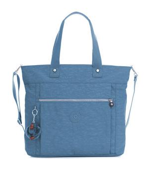 凯浦林(Kipling) Lizzie Laptop 手提包 #蓝色小鸟 #Blue Bird