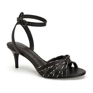 蔻驰(Coach) 女士高跟凉鞋 #Black