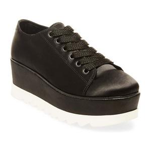 史蒂夫·马登 休闲鞋 #BLACK SATIN