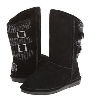 熊掌(Bearpaw) 女士靴子 #Black
