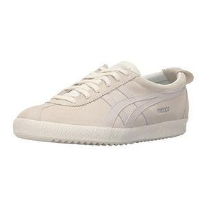 鬼冢虎(Onitsuka Tiger) 女士休闲鞋 #Slight White/Slight White