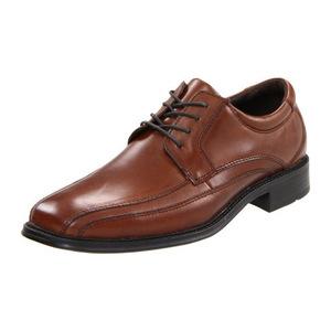 道格斯(Dockers) 男式Endow棕黄色花边表面皮鞋 #Tan