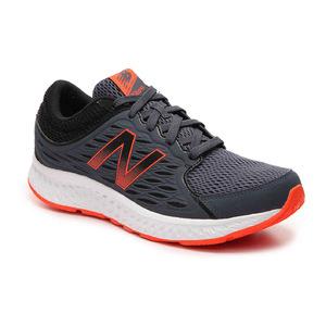 新百伦(New Balance) 420 v3 跑鞋  Mens #GreyOrange #Grey/Orange