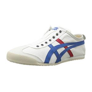 鬼冢虎(Onitsuka Tiger) 男女款休闲运动鞋 #White/Tricolor