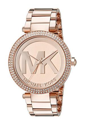 迈克高仕(Michael Kors) Womens Parker 玫瑰红 GoldTone 手表 MK5865 #Rose Gold