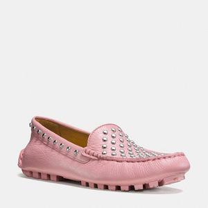 蔻驰(Coach) 女士软皮平底鞋 #PINK