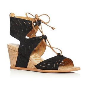 甜蜜人生 坡跟鞋 #Black