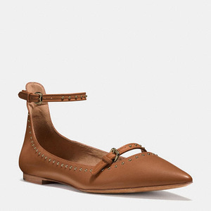 蔻驰(Coach) 女士平底鞋 #SADDLE/SADDLE