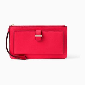 凯特·丝蓓(Kate Spade) 女士手腕包 #Rooster red