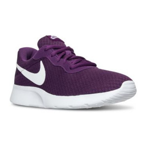 耐克(NIKE) 女士休闲运动鞋 #BRIGHT GRAPE/WHITE