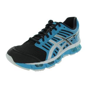 亚瑟士 跑步鞋 #BLACK/GRANITE/ELECTRIC TURQUOI