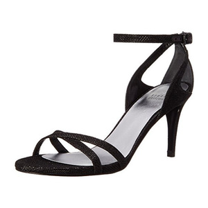 斯图尔特·韦茨曼(Stuart Weitzman) Women's Speedy Dress Sandal #Black