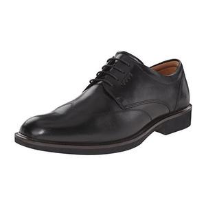 爱步 男士牛津鞋 #Black/Black