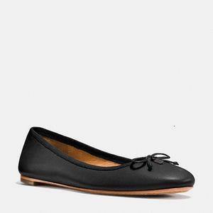 蔻驰(Coach) 女士平底鞋 #BLACK