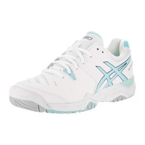 亚瑟士 跑步鞋 #White/Crystal Blue/Blue Steel