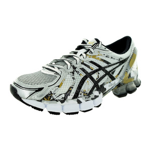 亚瑟士 跑步鞋 #White/Onyx/Silver
