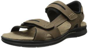 道格斯(Dockers) 男式Solano Gladiator棕褐色凉鞋 #Tan