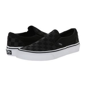 万斯(Vans) 女士休闲鞋 #(Checkerboard) Black/Black
