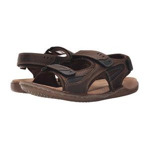 暇步士 男士凉鞋 #Brown Waxy Leather