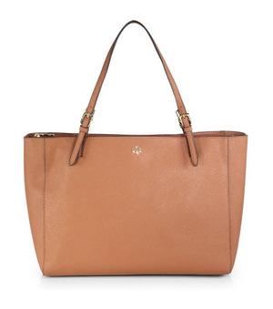 汤丽柏琦(Tory Burch) 棕色大容量手提包 #Luggage