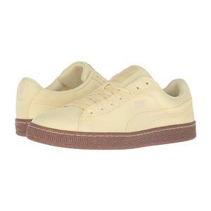 彪马(PUMA) 男士板鞋 #Mellow Yellow/White Swan