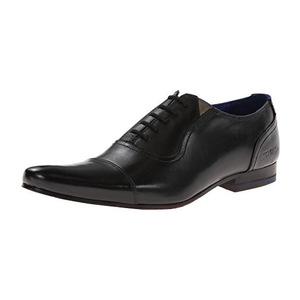 泰德贝克(Ted Baker) 男士牛津鞋 #Black Leather