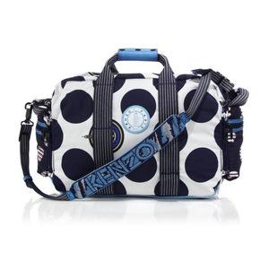 高田贤三 男士行李包 #Blue-White